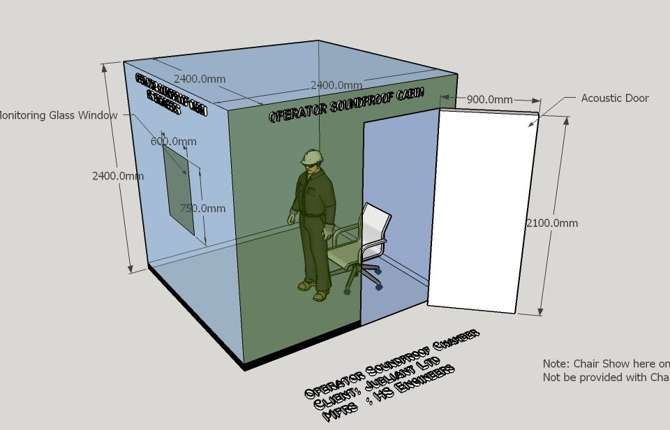 Operator soundproof cabin supplier noida