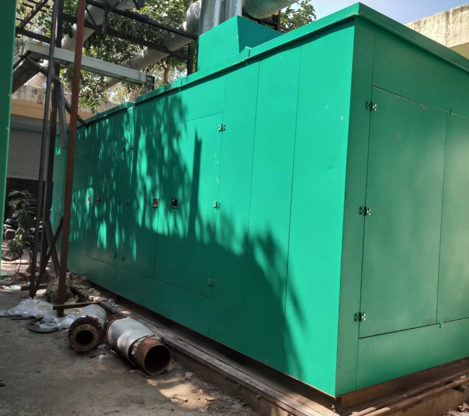 Generator soundproof canopy